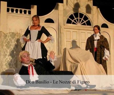 Don Basilio- Le Nozze di Figaro
