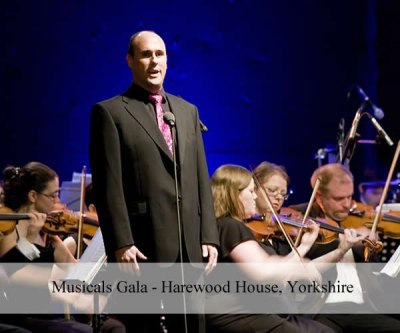 Musicals Gala - Harewood House, Yorkshire